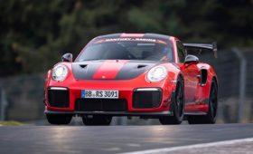 Porsche 911 GT2 RS MR – новый рекордсмен Нюрбургринга, опередивший Lamborghini